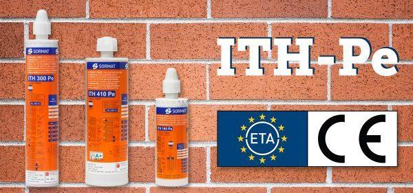ITH-Pe nu med ETA-godkännande för murverk!