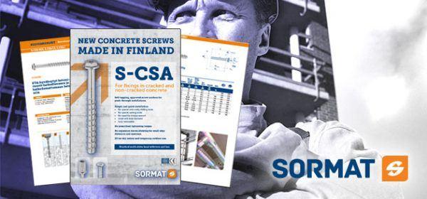 S-CSA betongskruv