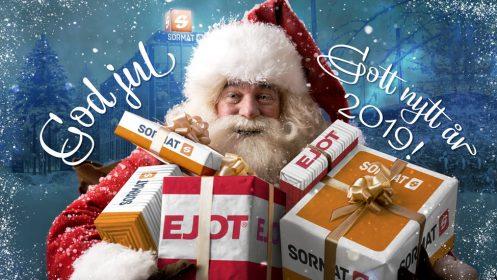 God Jul och ett framgångsrikt år 2019!